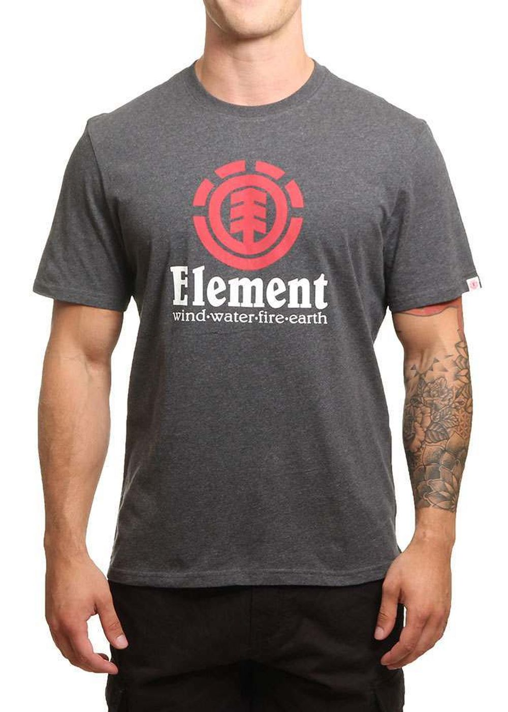 element-vertical-tee-charcoal-heather