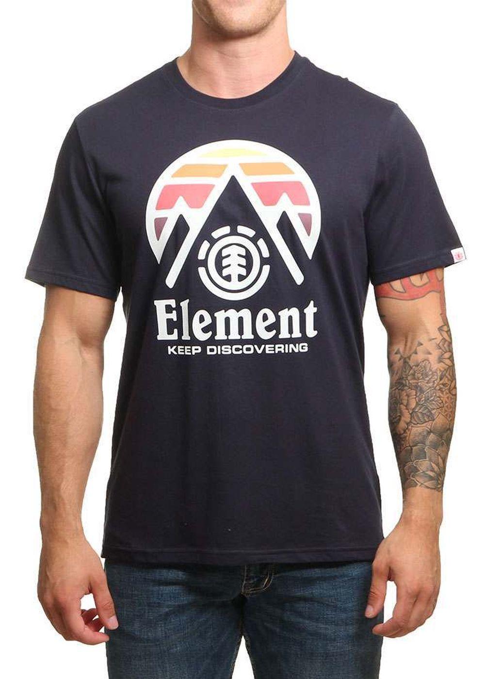 element-cliff-tee-eclipse-navy