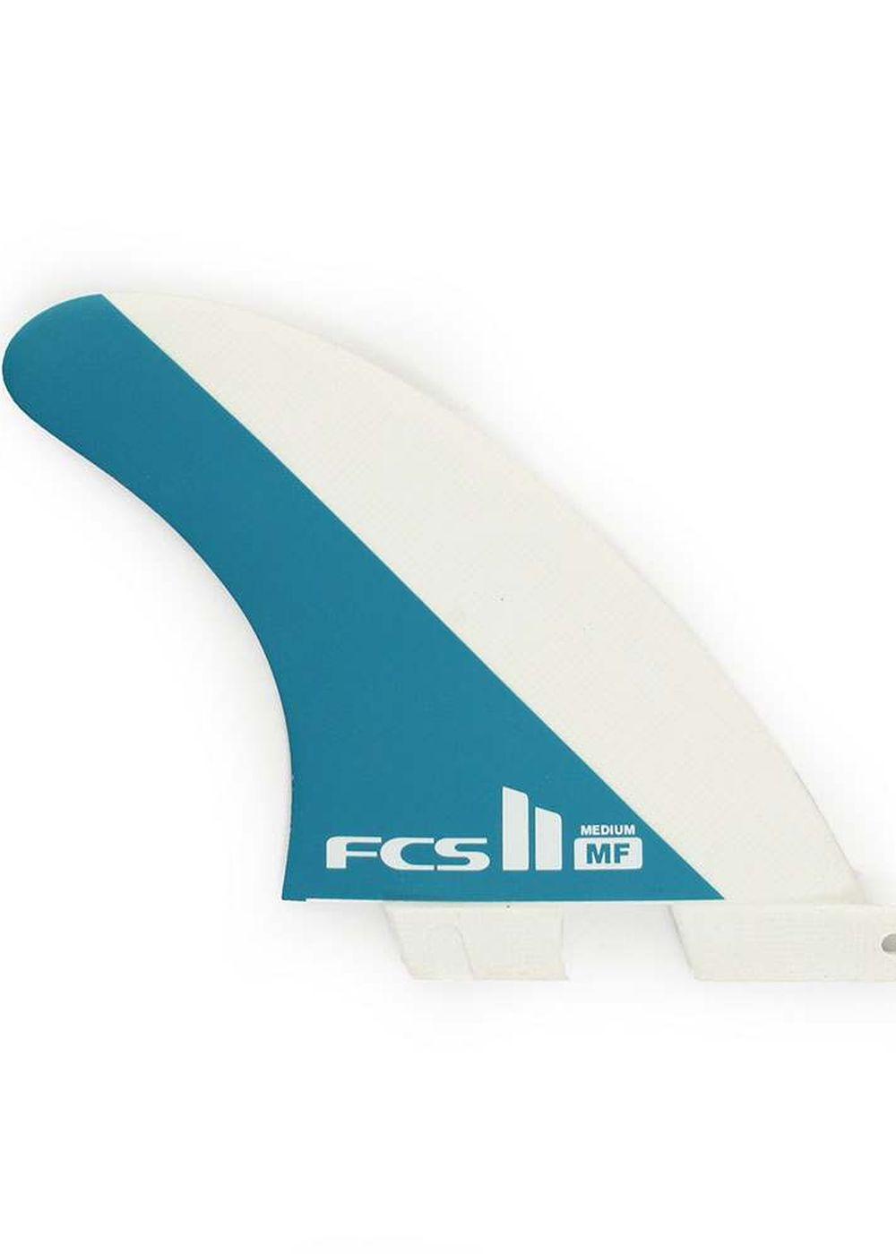 FCS 2 MF PERFORMANCE GLASS MEDIUM SURFBOARD FINS