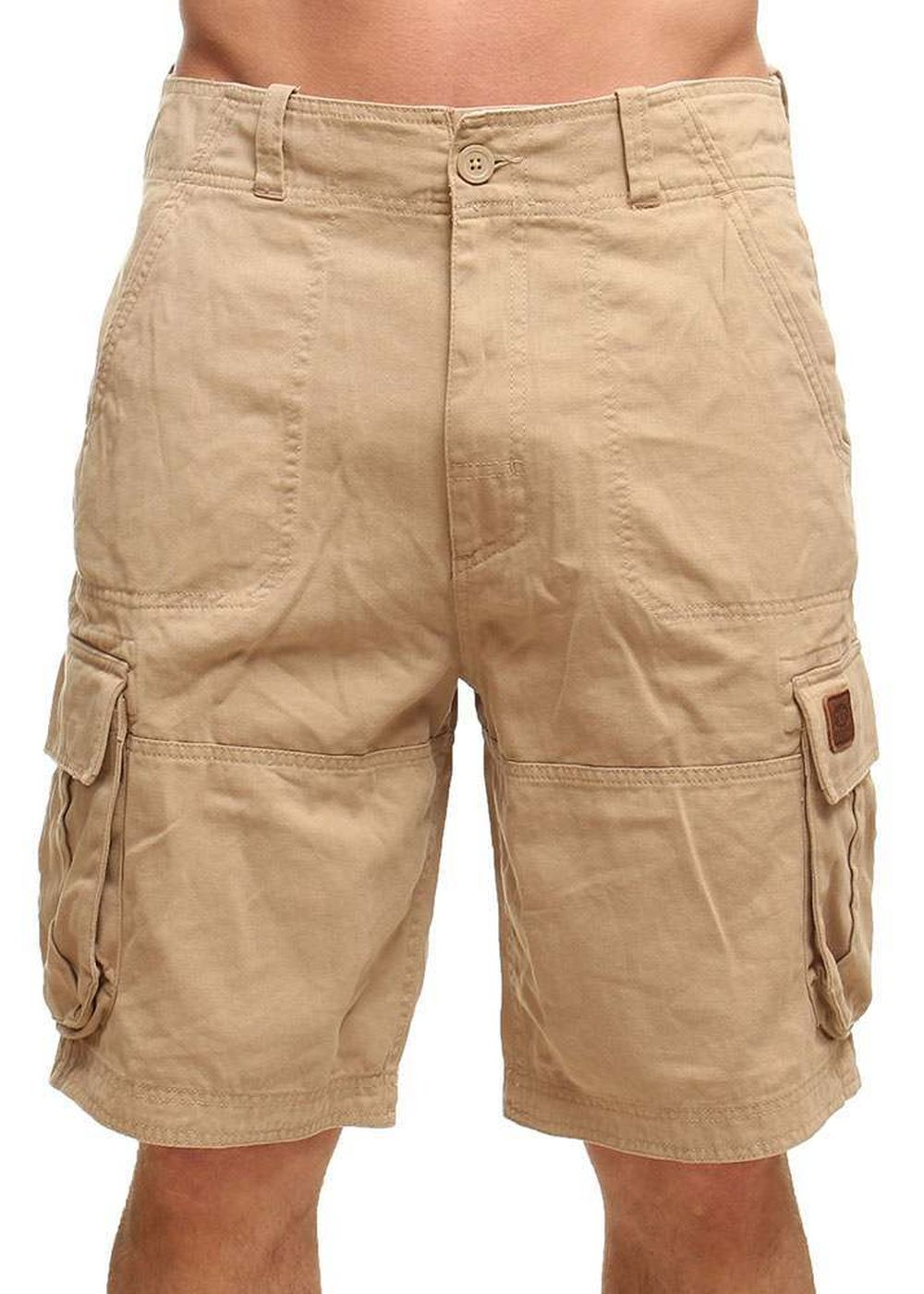 ANIMAL AGOURAS CARGO SHORTS Beige