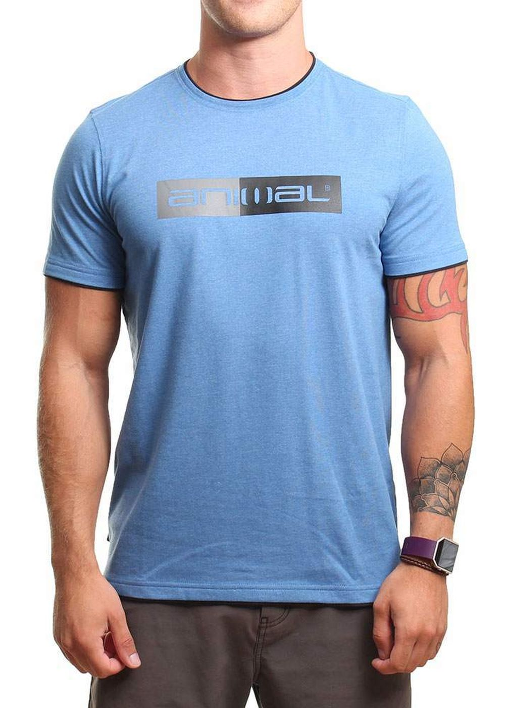 animal-loan-tee-royale-blue-marl