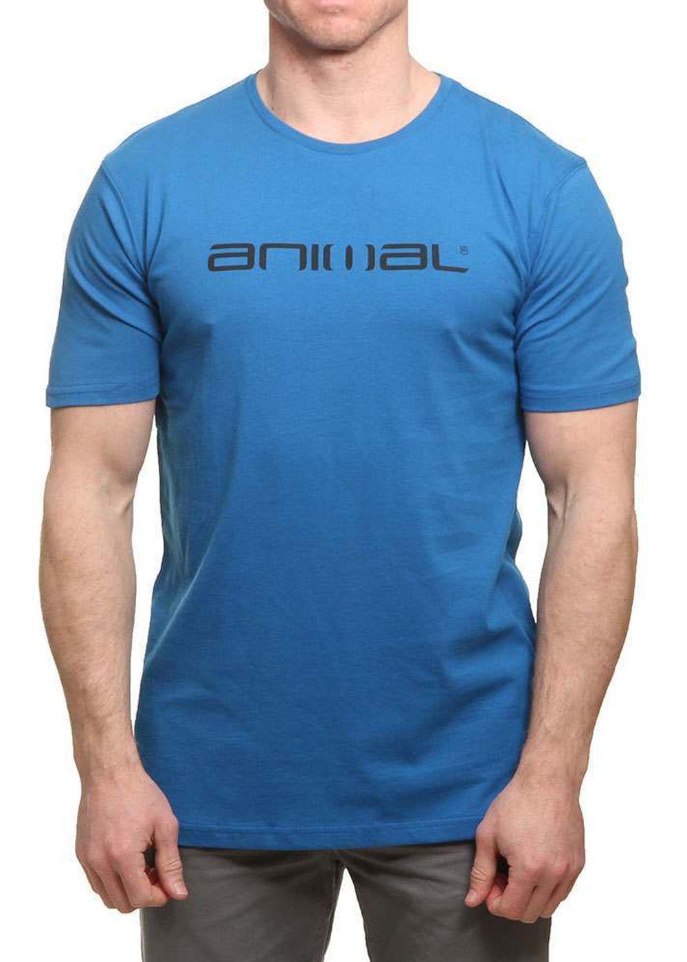 Animal Classico Tee Snorkel Blue