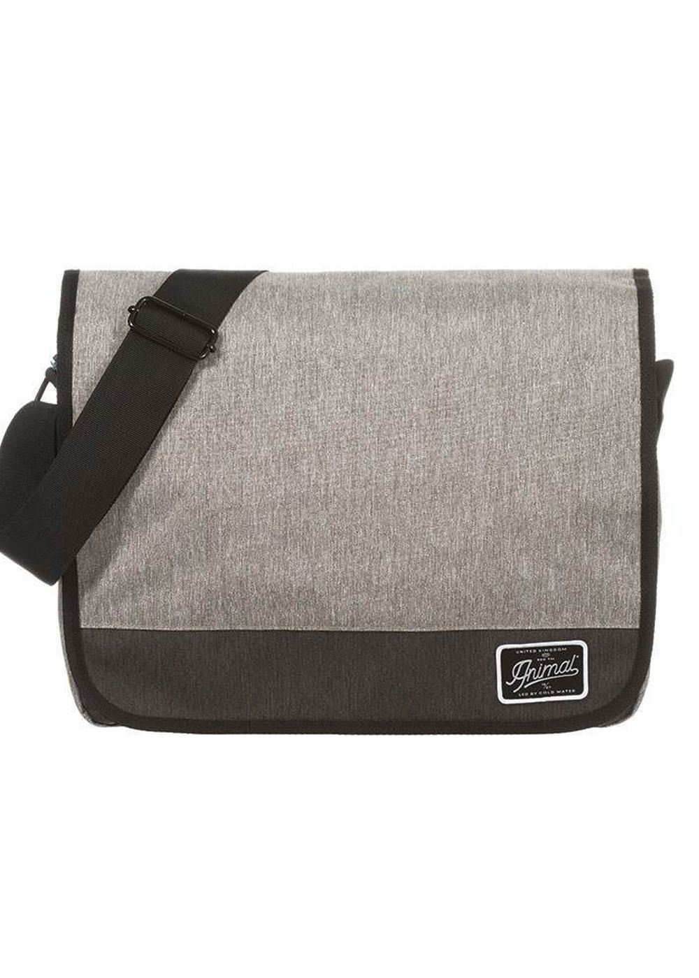 animal verge satchel bag steel grey