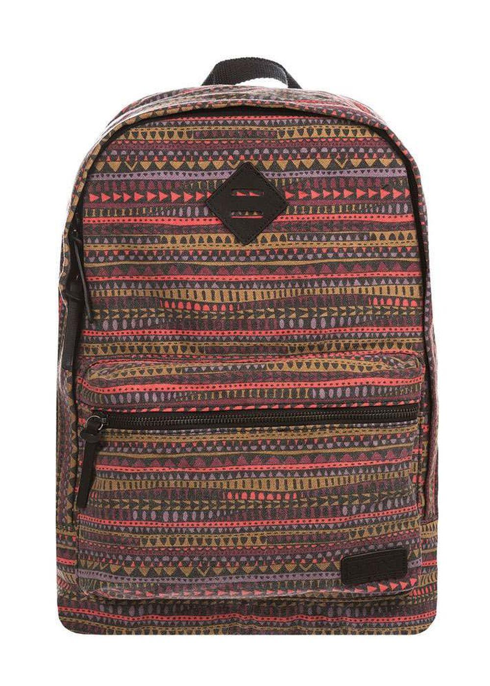 animal burst backpack bordeaux red
