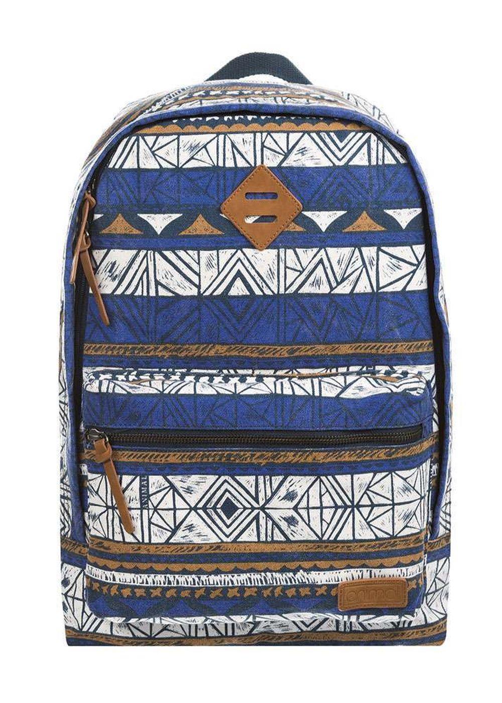 animal burst backpack clematis blue
