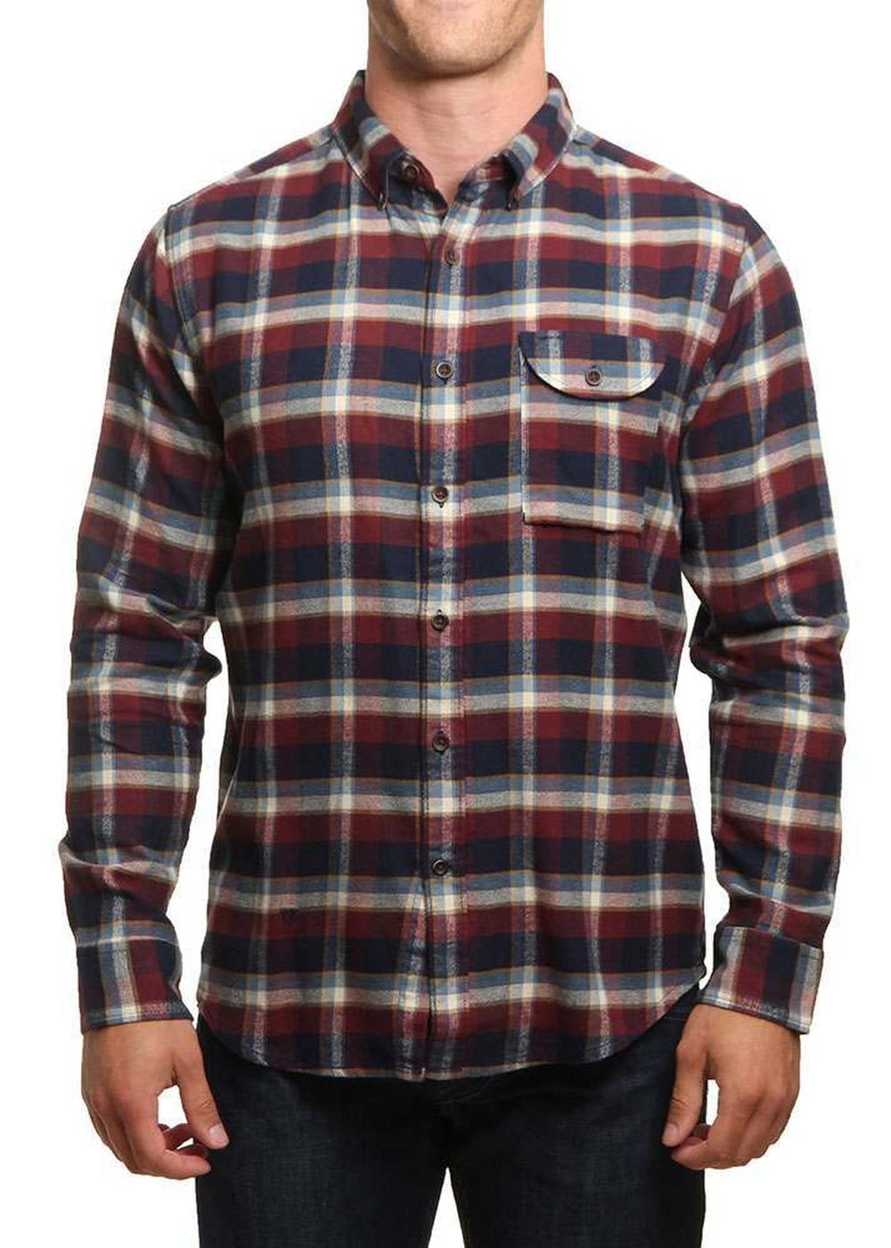 vissla-central-coast-flannel-shirt-dark-navy