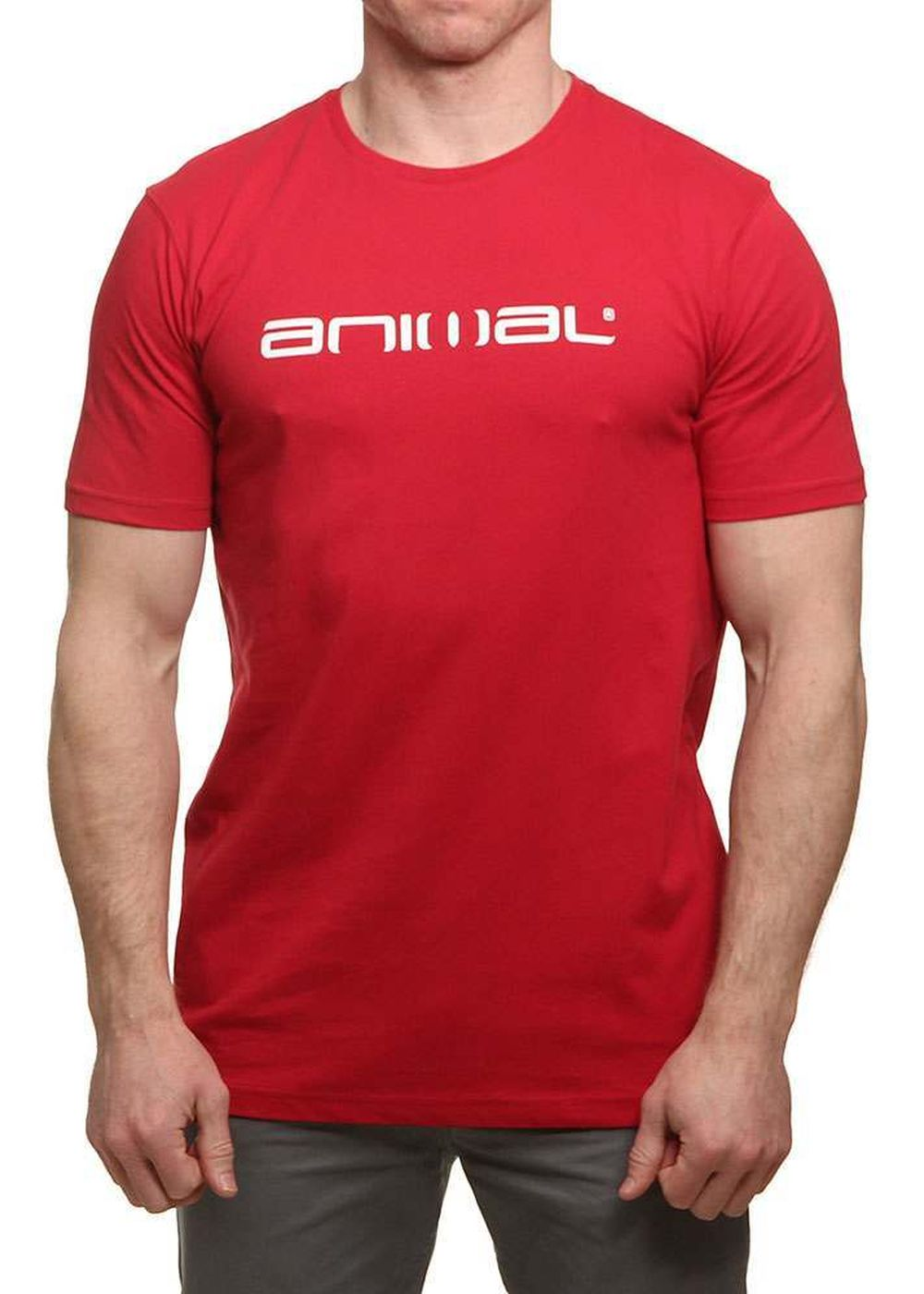 Animal Classico Tee Rich Red