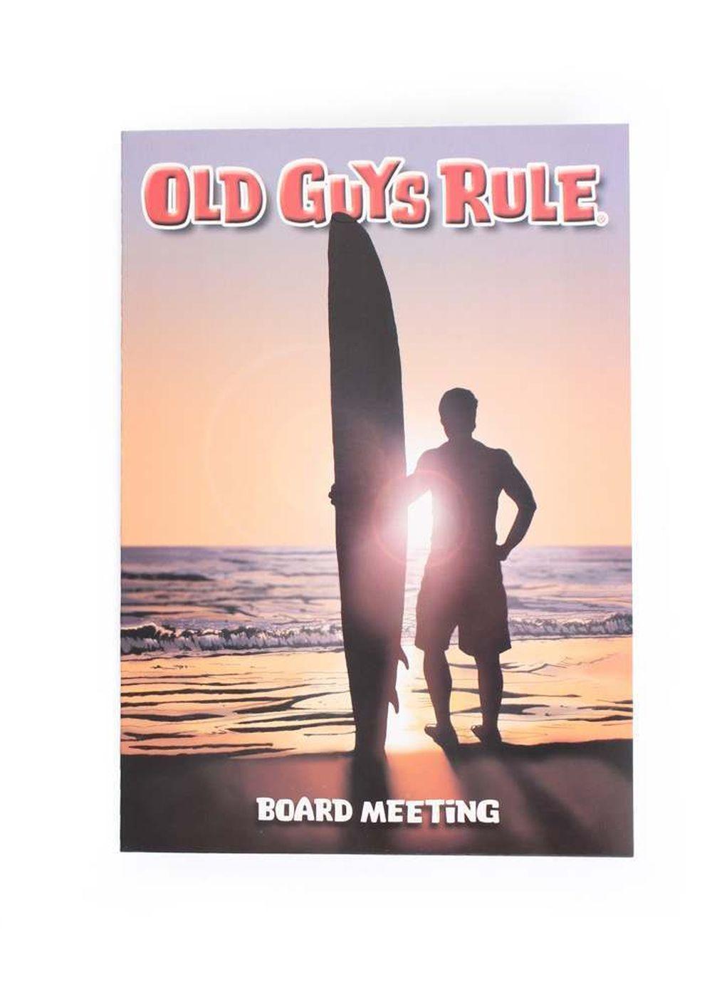 OLD GUYS RULE  BOARD MEETING  CARD