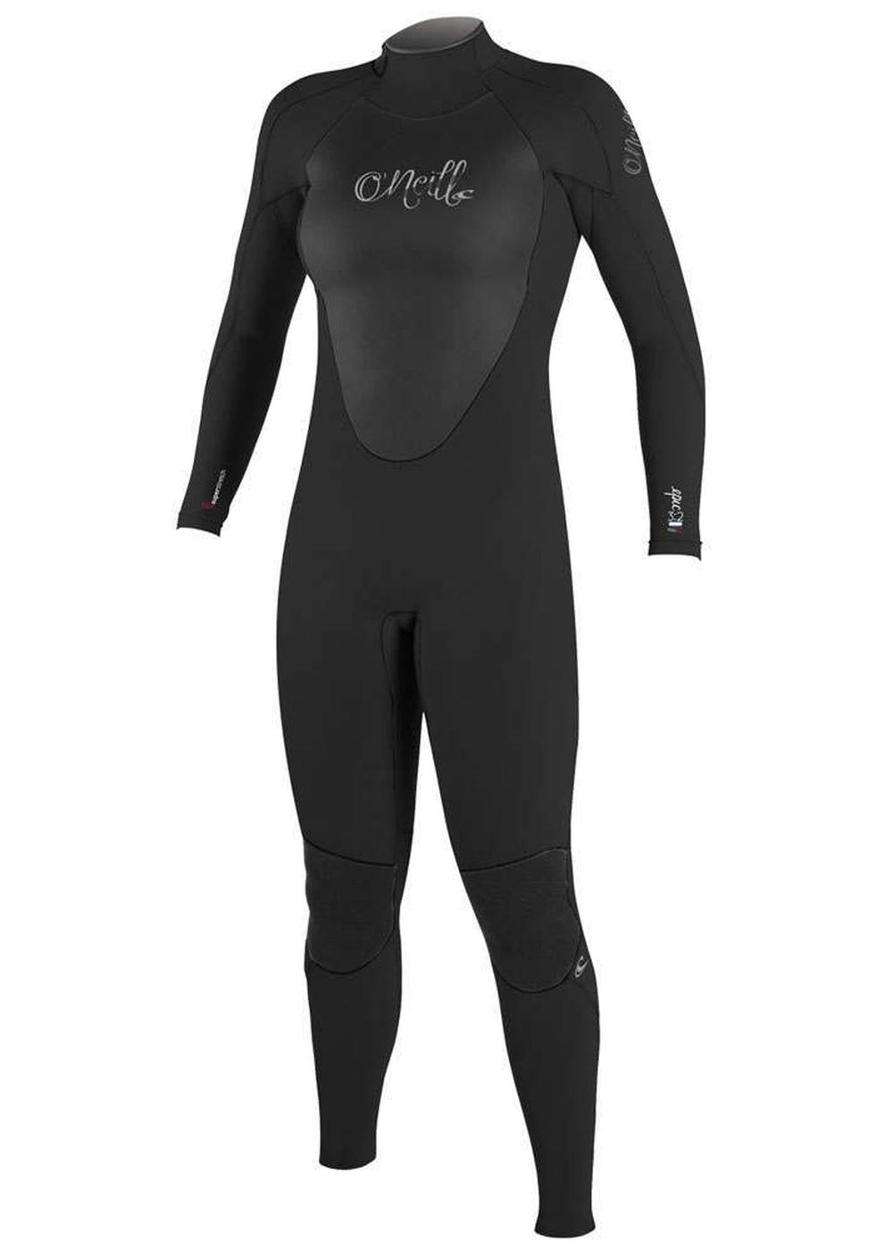 Oneill Womens Epic Bz 3/2 Gbs Wetsuit 2016 Black Picture