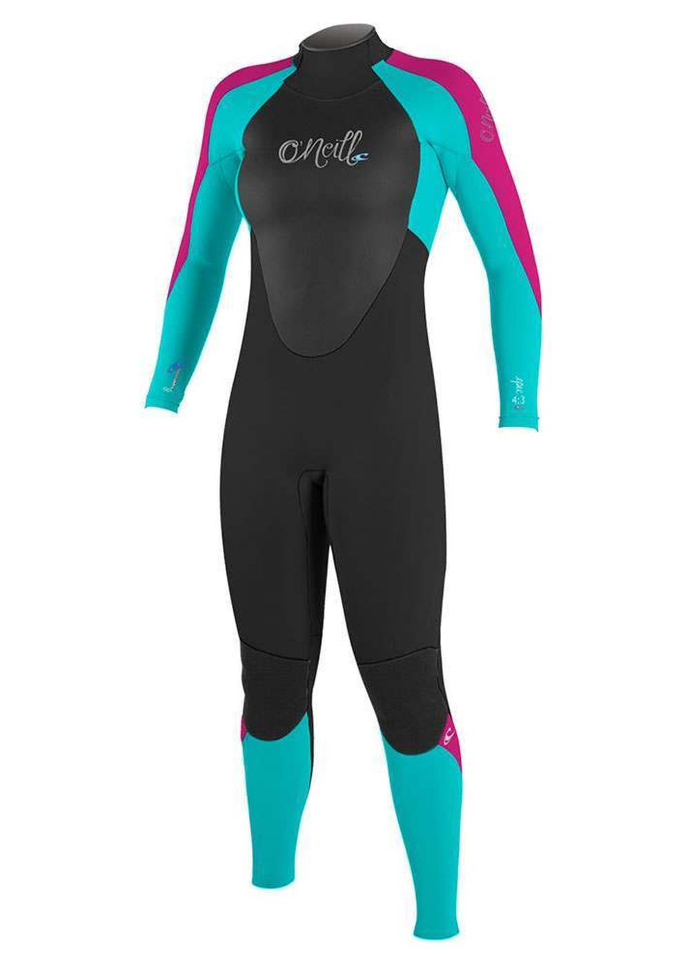 Oneill Womens Epic Bz 4/3 Gbs Wetsuit 2017 Aqua Picture