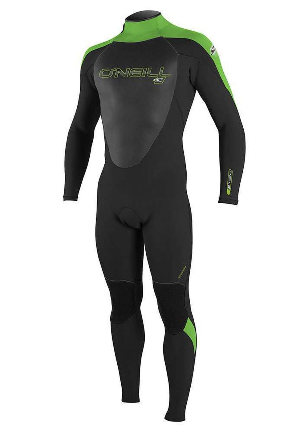 Oneill Epic Bz 5/4 Gbs Wetsuit 2017 Black/dayglo Picture