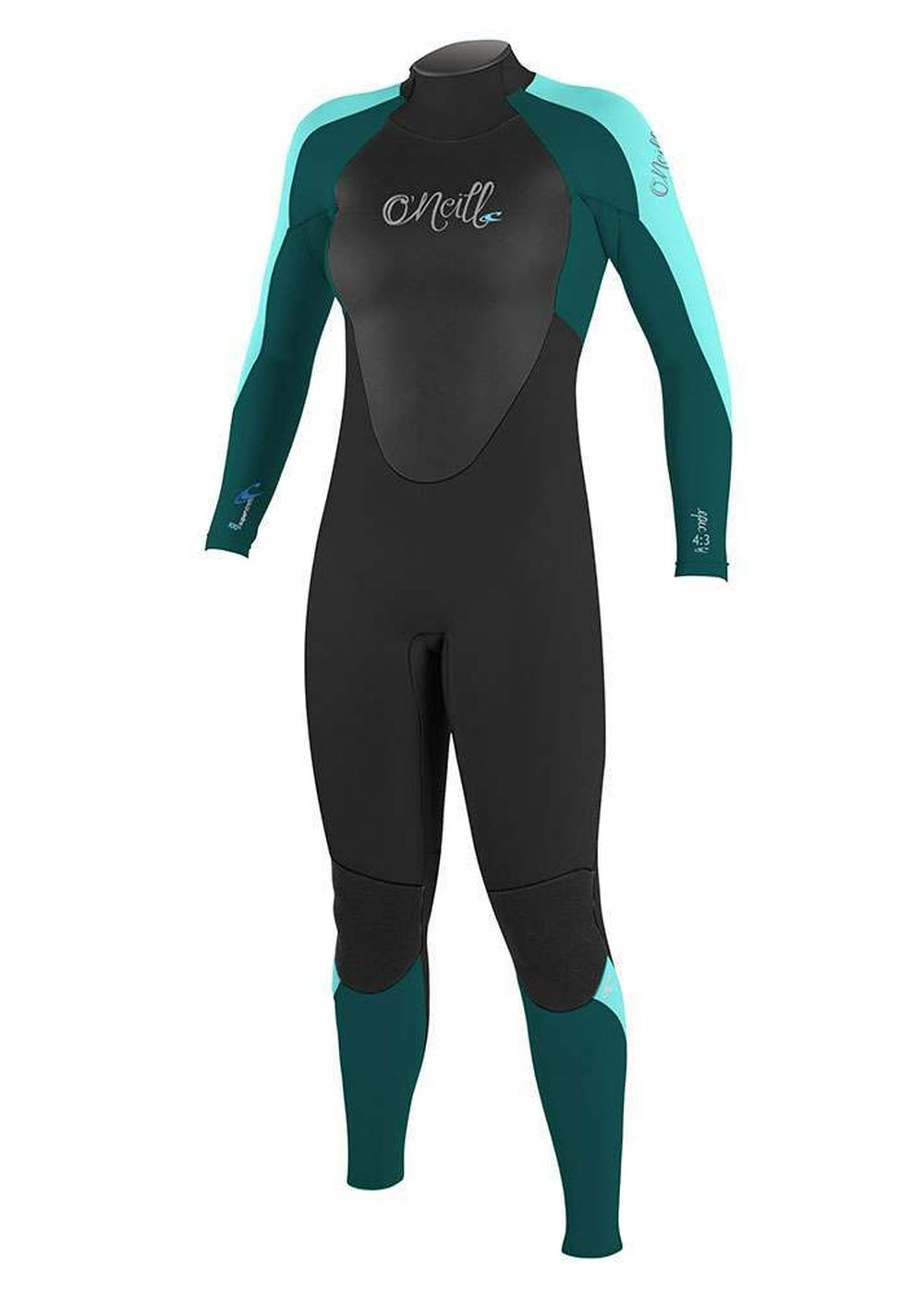 Oneill Womens Epic Bz 5/4 Gbs Wetsuit 2017 Teal Picture