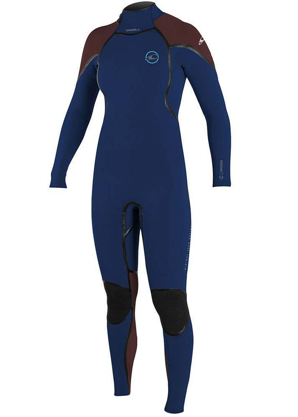 Oneill Womens Psycho 1 Bz 3/2 Fsw Wetsuit Navy Picture