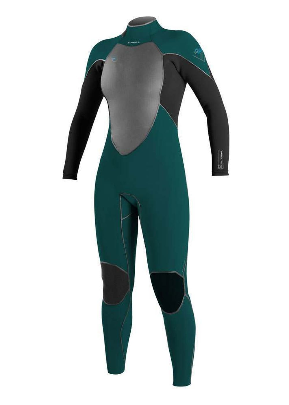 Oneill Womens Psycho Freak Bz 5/4 Wetsuit 17 Teal Picture
