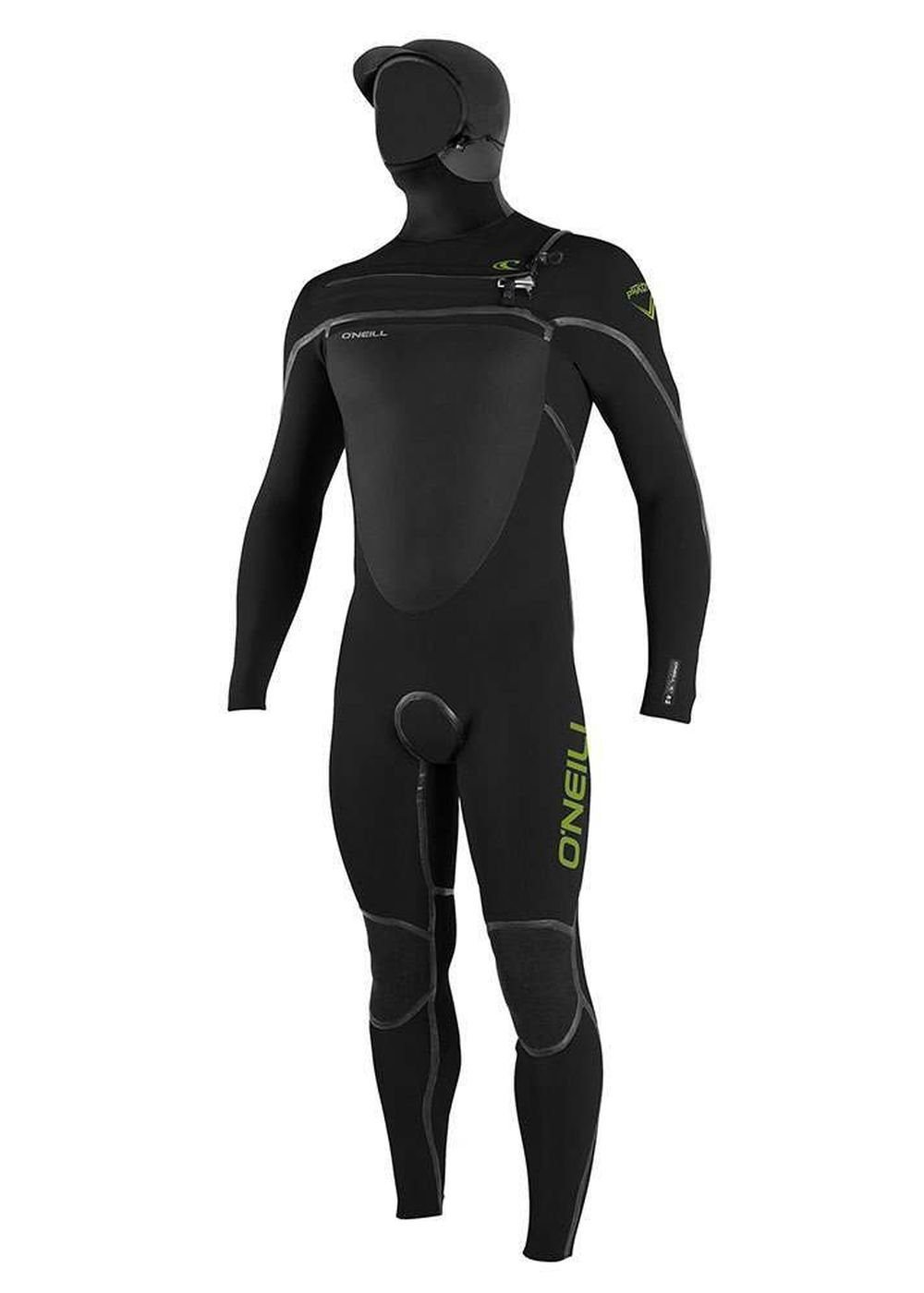 Oneill Psycho Tech Hooded 6/4 Wetsuit 2017 Black Picture