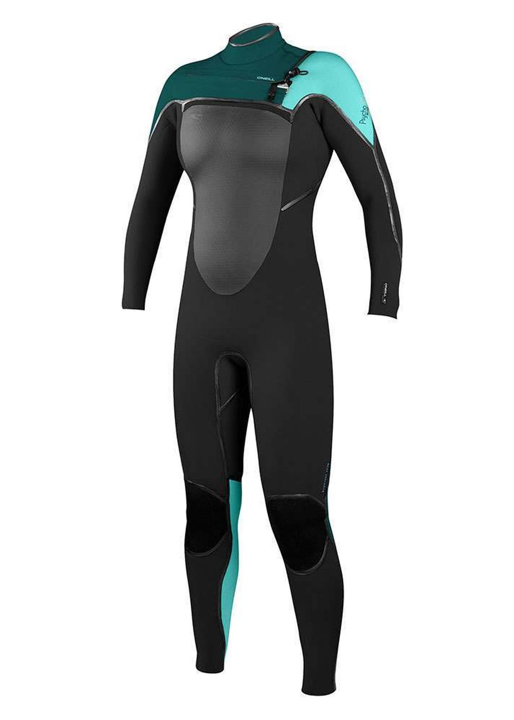 Oneill Womens Psycho Tech Fz 5/4 Wetsuit 2017 Teal Picture