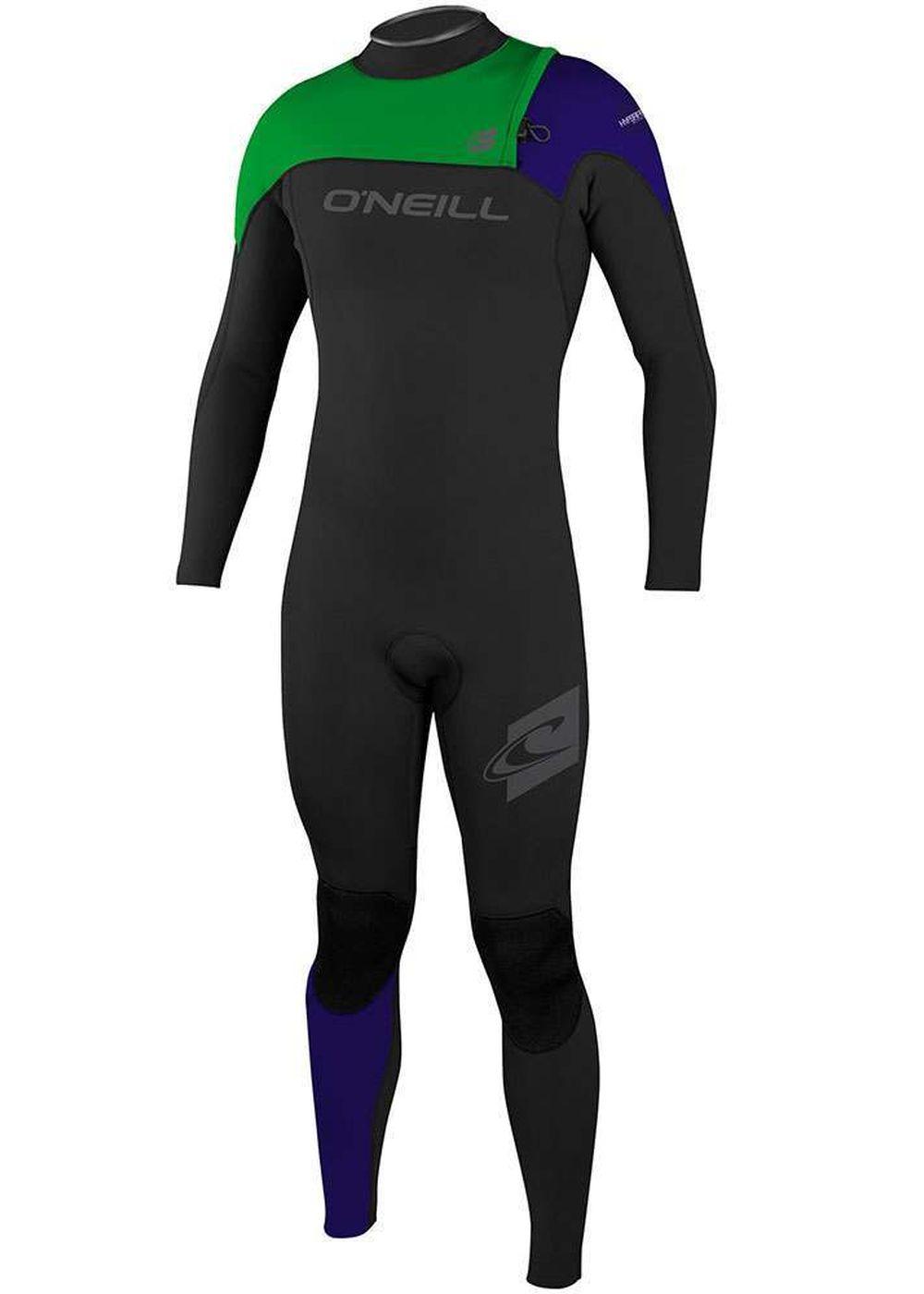 Oneill Hyperfreak Comp 3/2 Zipless Wetsuit 16 Blk Picture