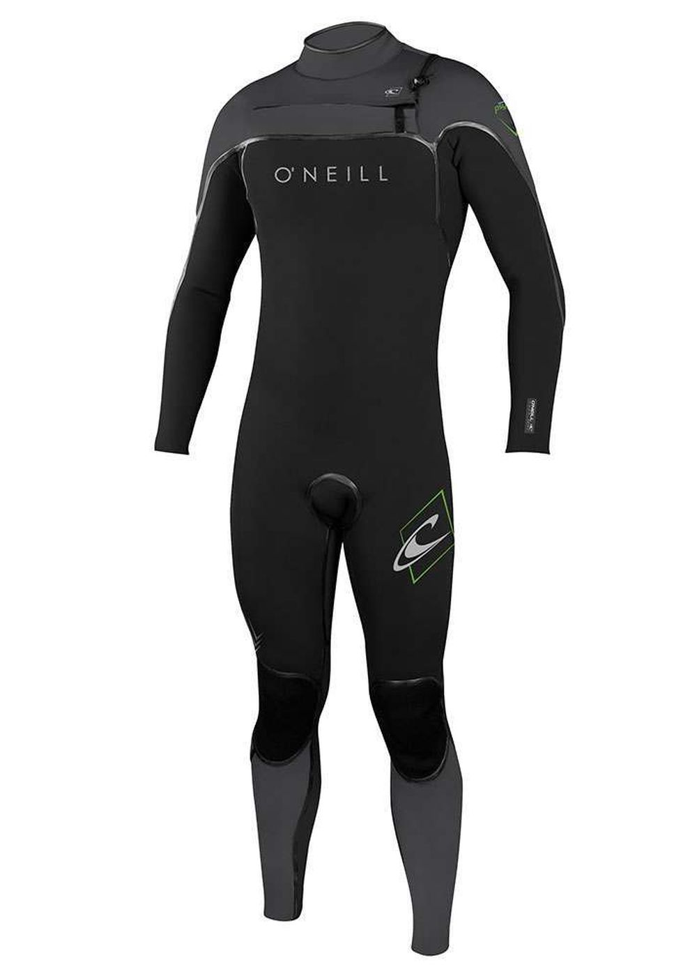 Oneill Psycho One Fz 5/4 Fsw Wetsuit 2017 Blk/smk Picture