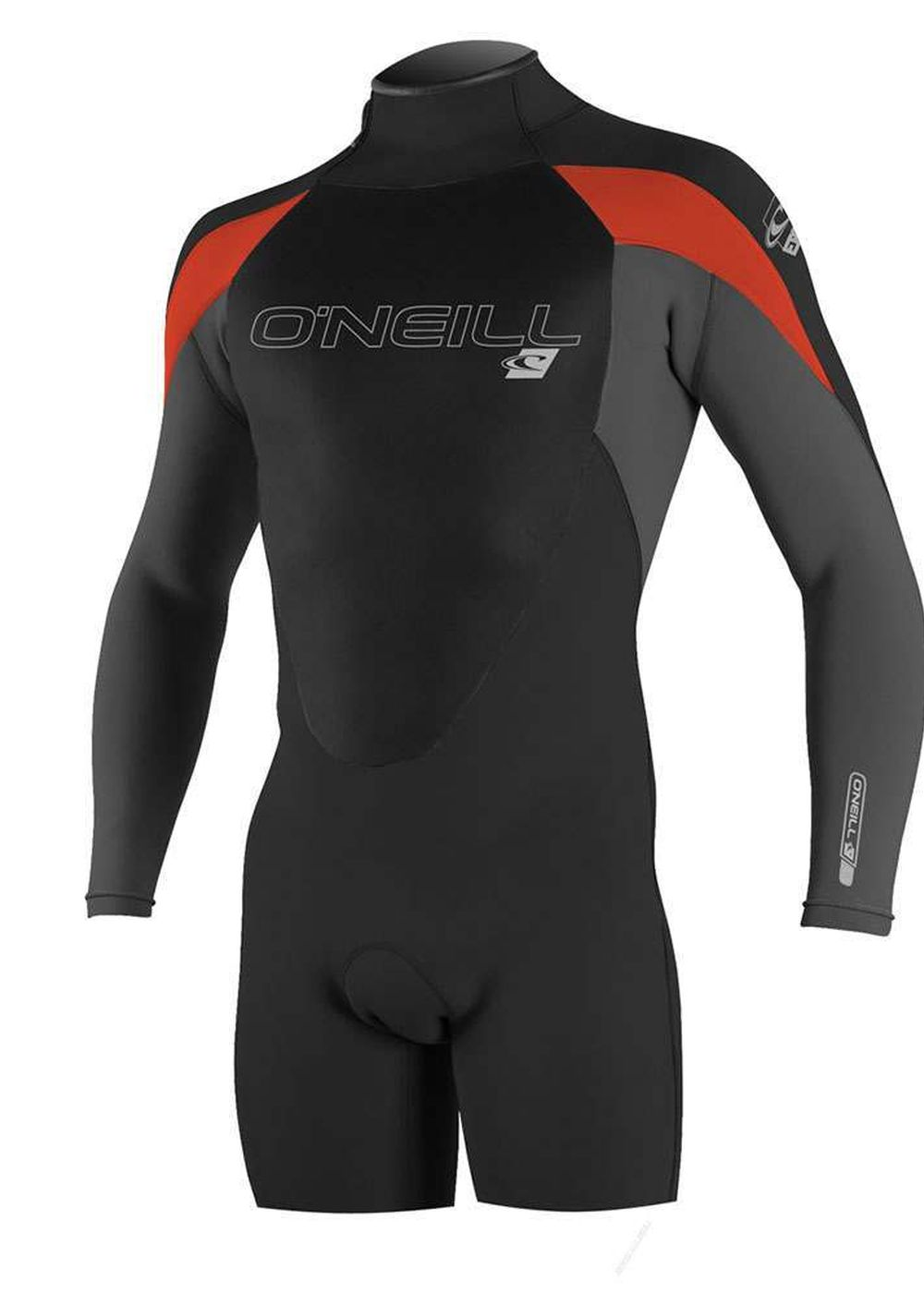 Oneill Epic 2mm Long Sleeve Shorty Wetsuit Black Picture