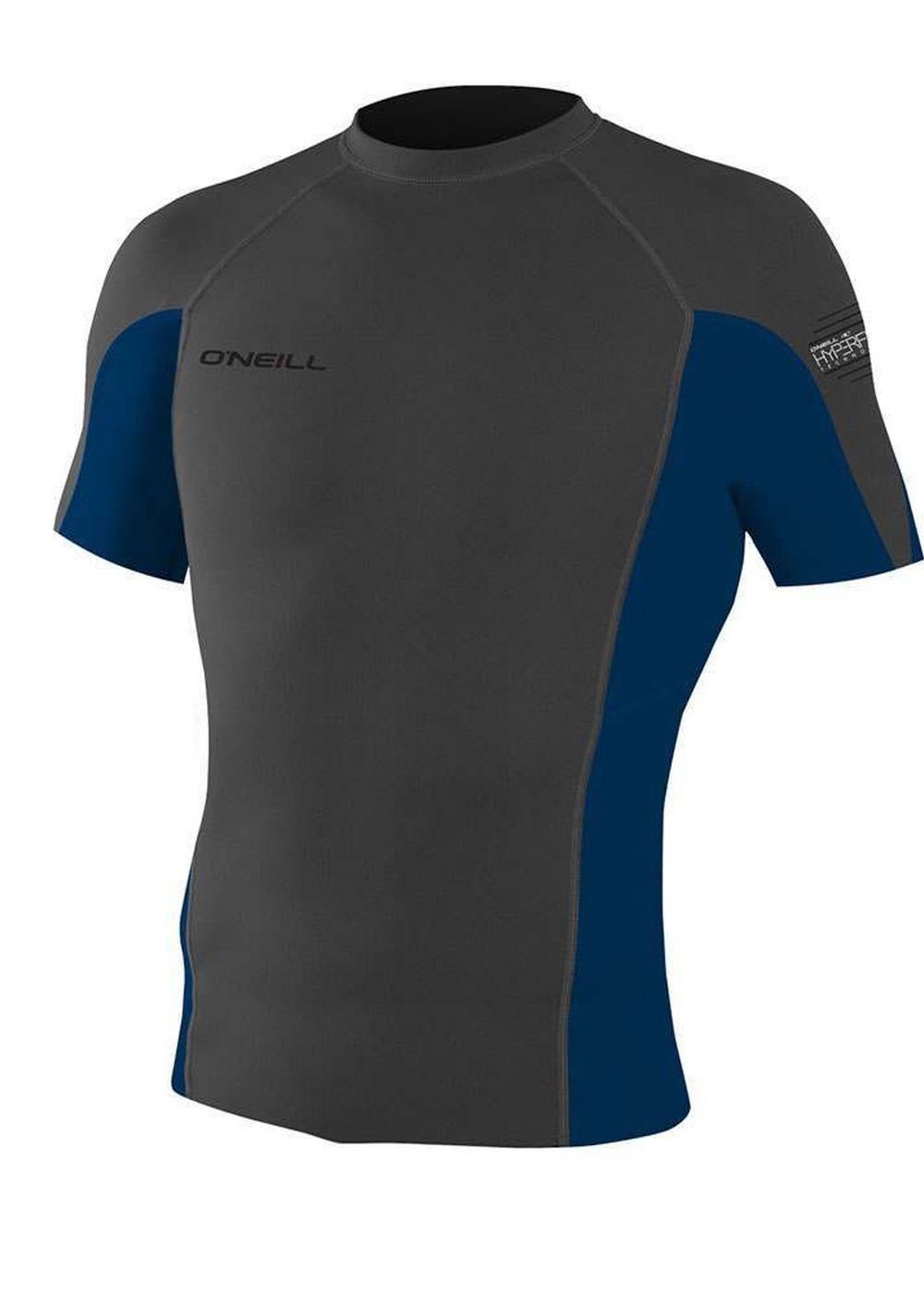 Oneill Hyperfreak 0.5mm Short Sleeve Wetsuit Top Graphite Picture