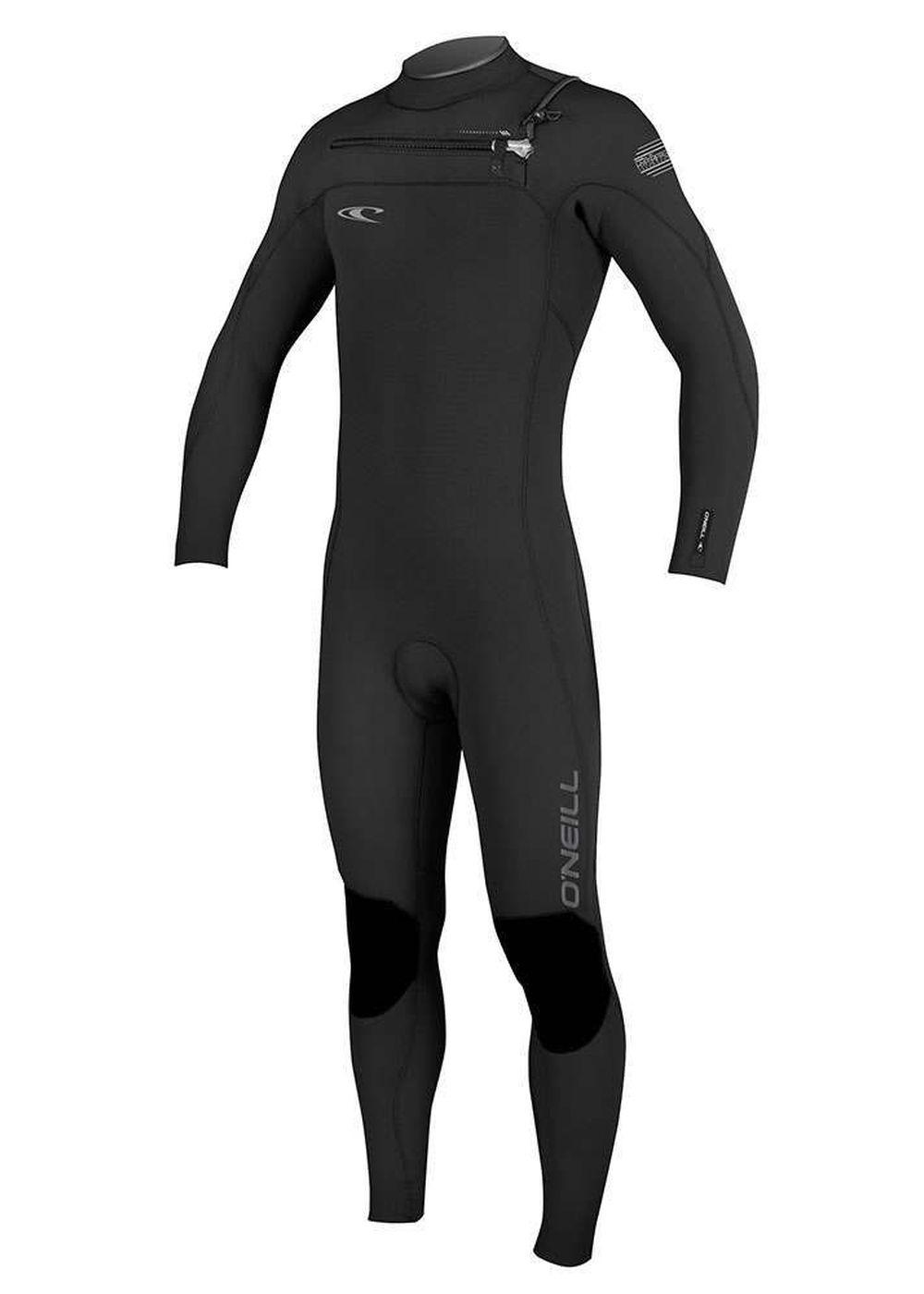 Oneill Hyperfreak Fz 5/4 Gbs Wetsuit 2017 Black Picture