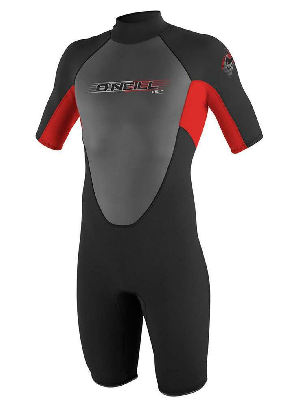 Oneill Reactor Spring 2mm Shorty Wetsuit Blk/red Picture