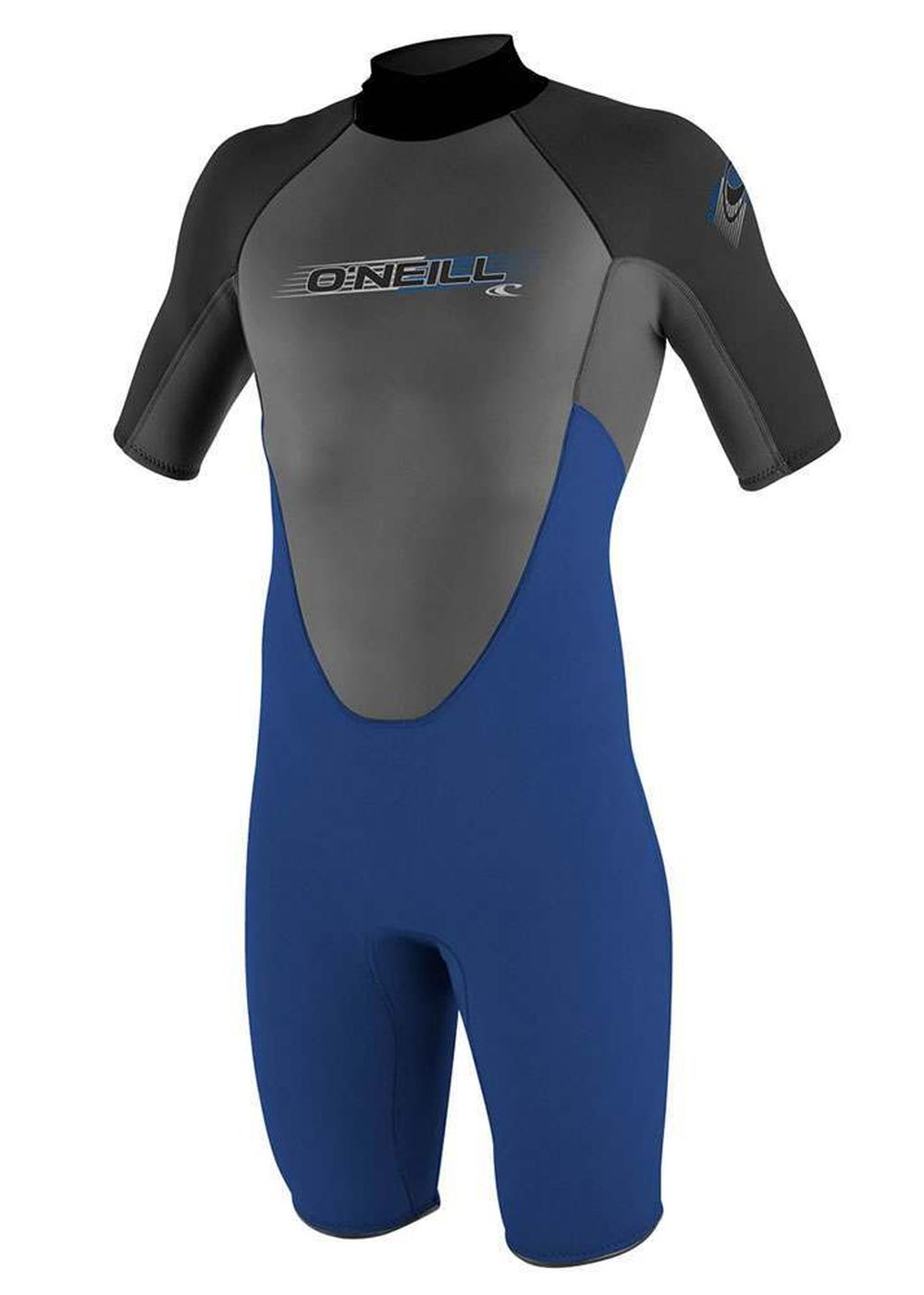 Oneill Reactor Spring 2mm Shorty Wetsuit Nvy/grph Picture