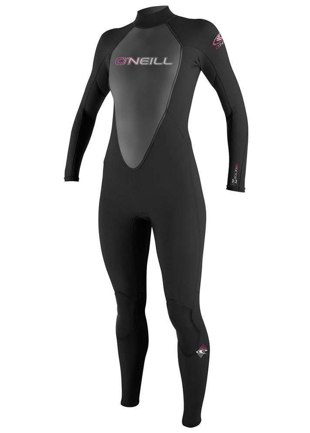 Oneill Womens Reactor 3/2 Wetsuit Black Picture