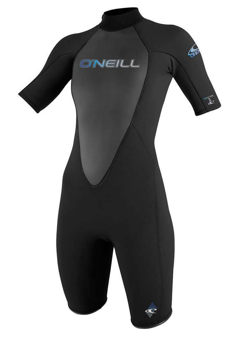 Oneill Womens Reactor 2mm Shorty Wetsuit Black Picture