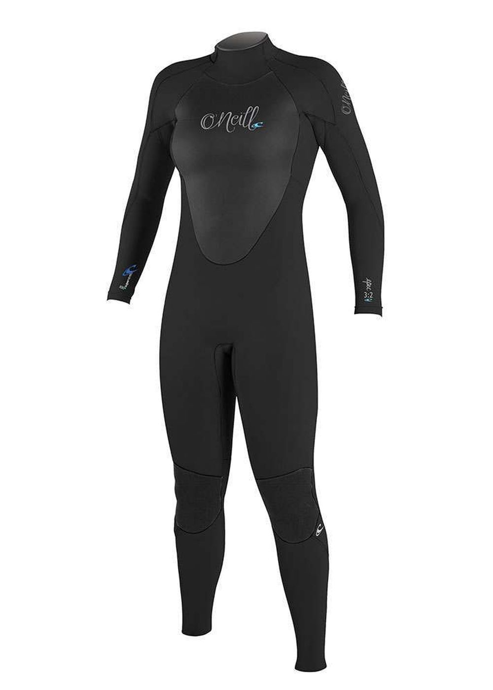 Oneill Womens Epic Bz 3/2 Gbs Wetsuit Black Picture