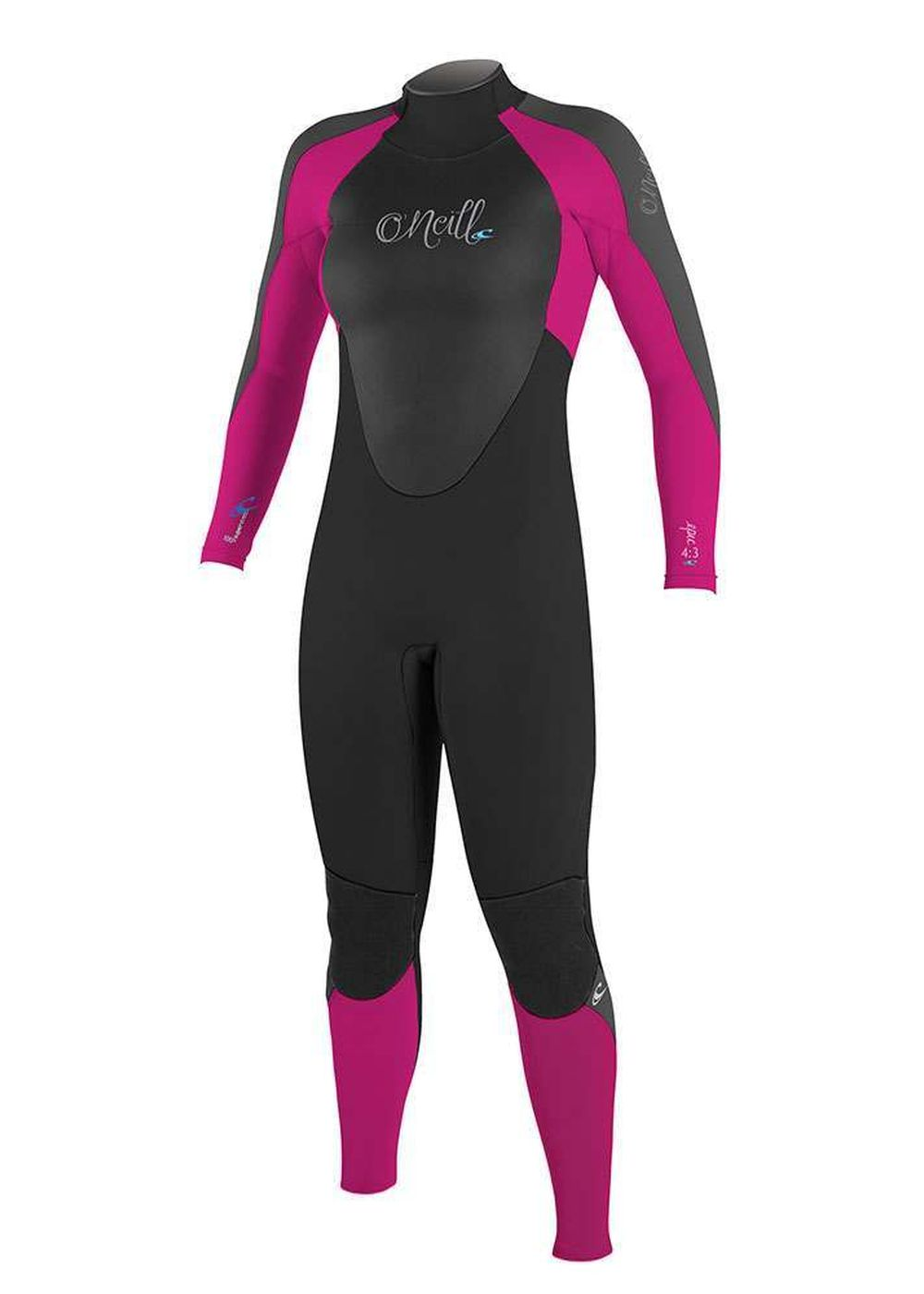 Oneill Womens Epic Bz 3/2 Gbs Wetsuit Blk/berry Picture