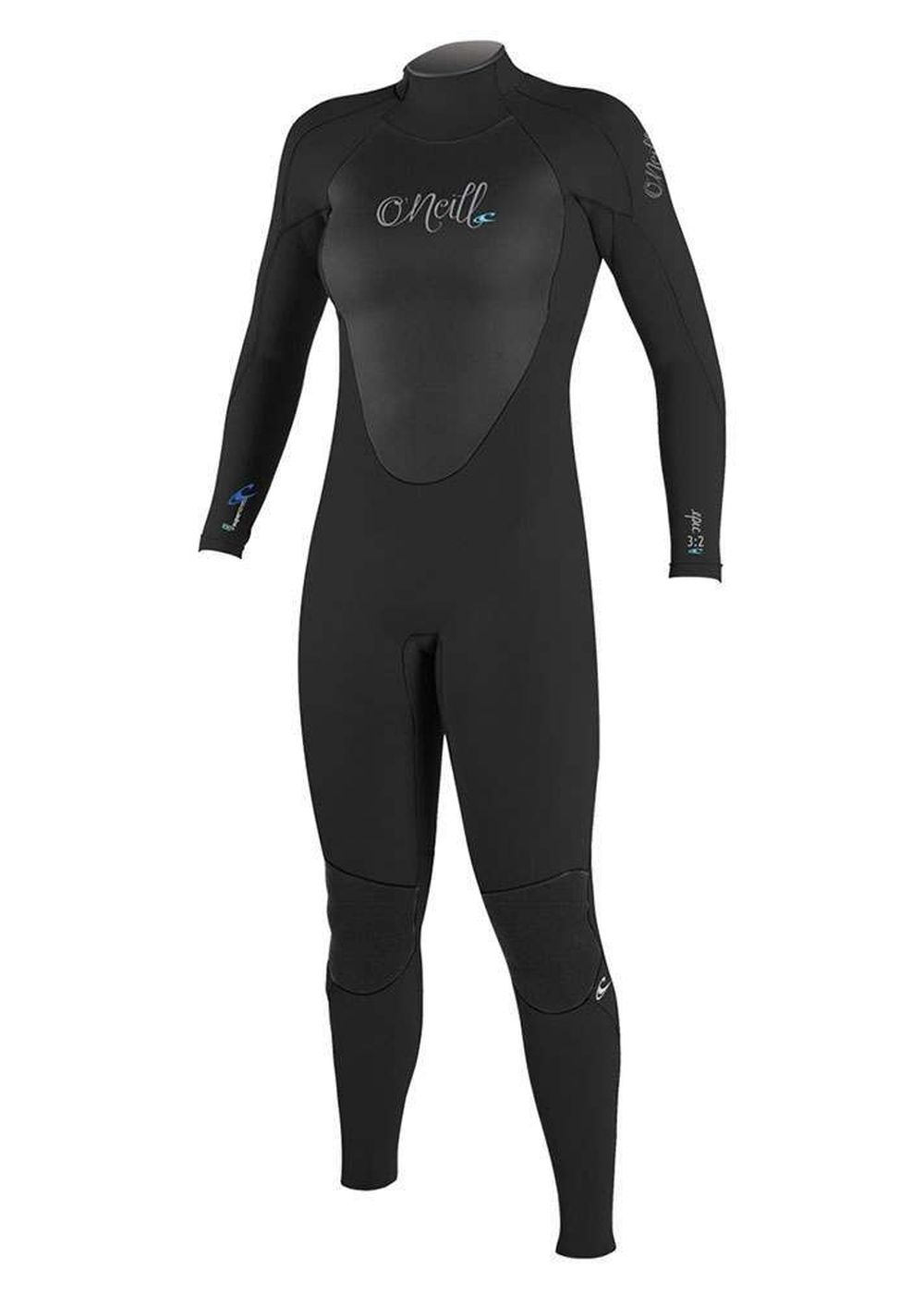 Oneill Womens Epic Bz 4/3 Gbs Wetsuit Black Picture