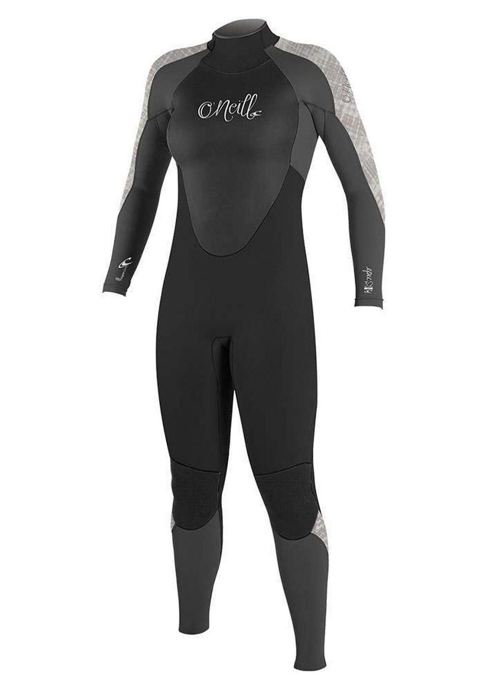 Oneill Womens Epic Bz 5/4 Wetsuit 2018 Blk/gph/vid Picture