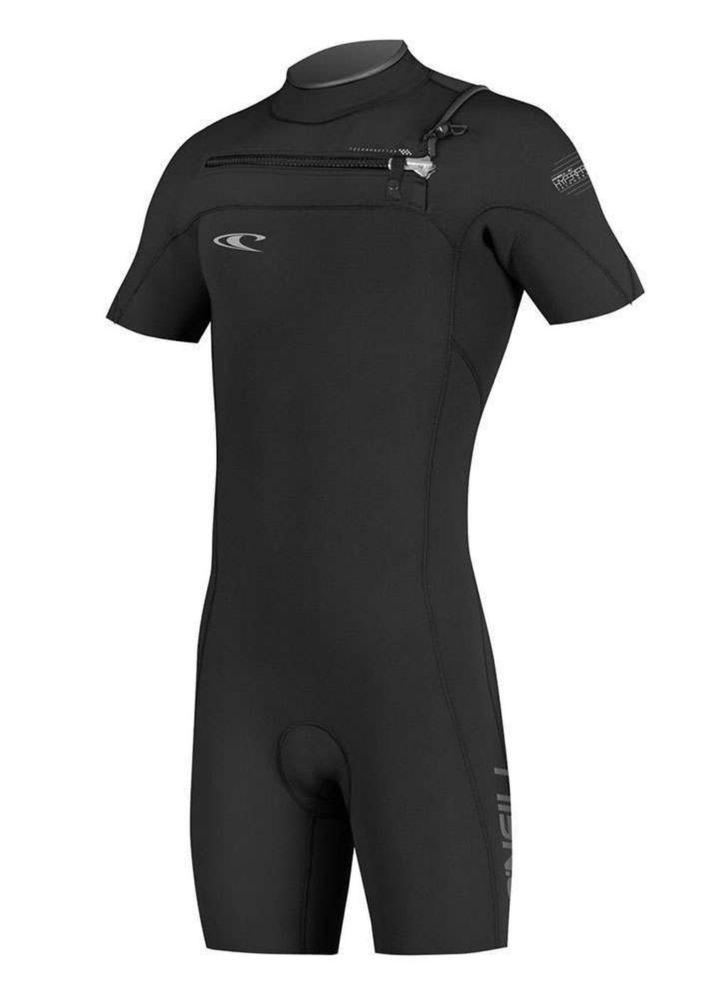 Oneill Hyperfreak 2mm Gbs Short Sleeve Wetsuit Blk Picture