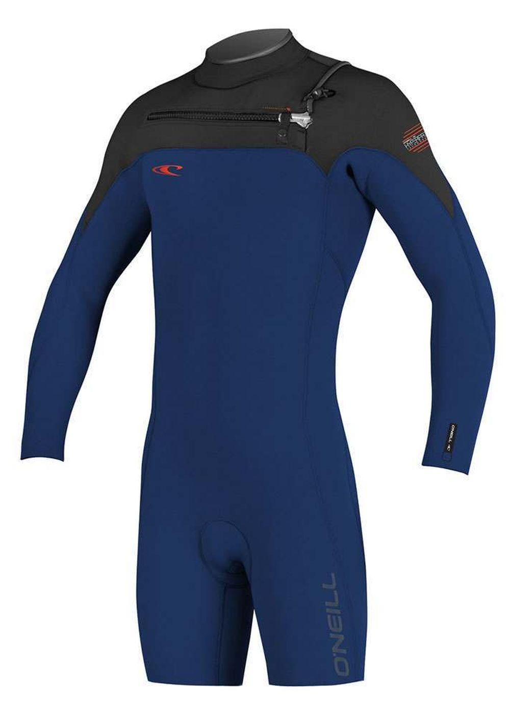 Oneill Hyperfreak 2mm Gbs Shorty Wetsuit Nvy/black Picture