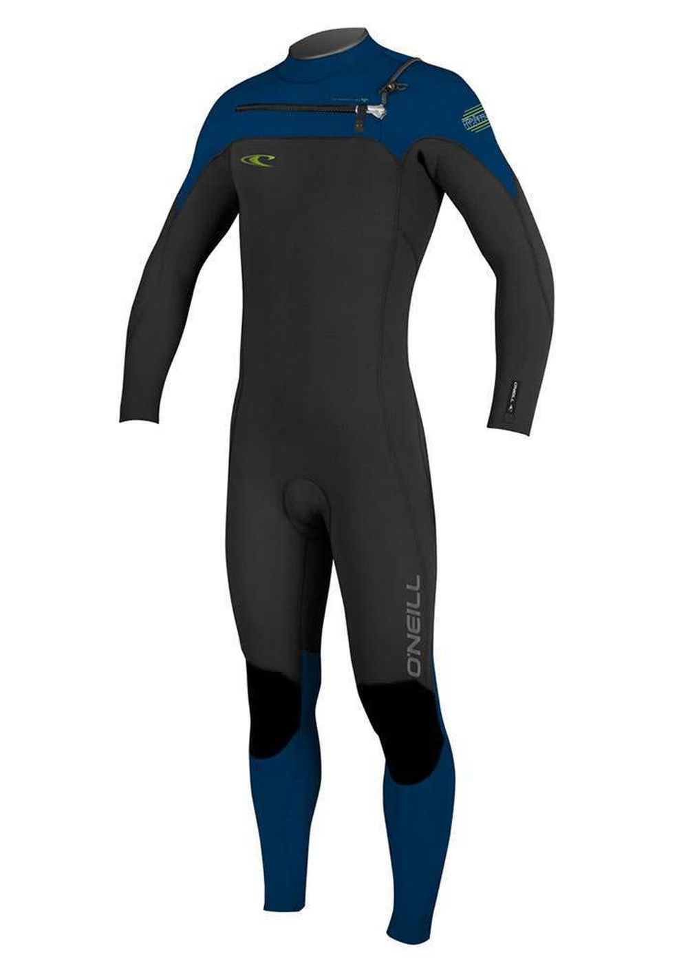 Oneill Hyperfreak 3/2 Gbs Wetsuit 2017 Blk/nvy/neo Picture