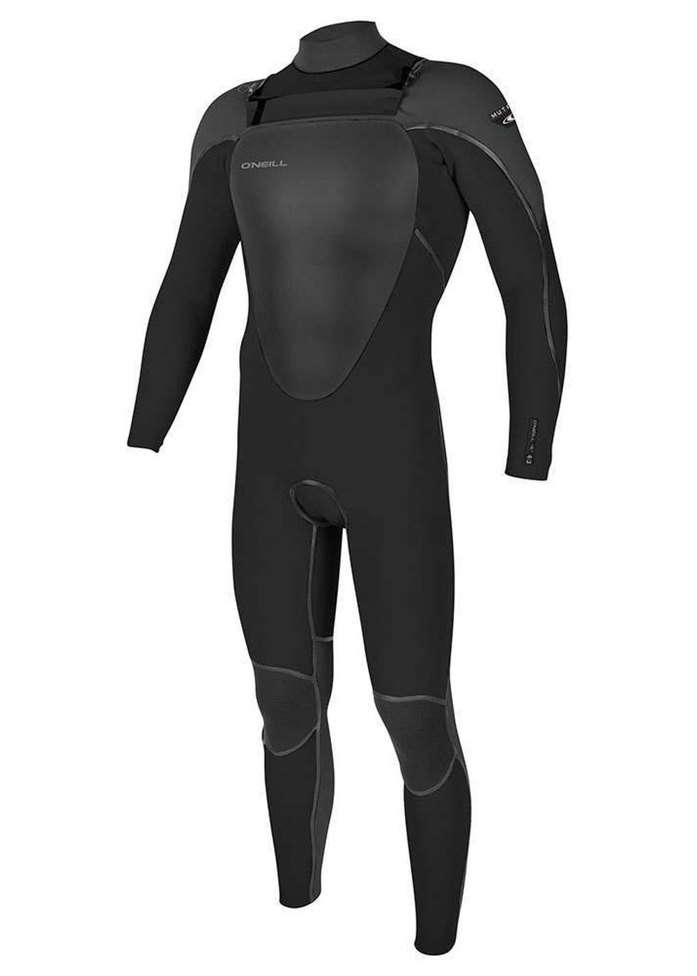 Oneill Mutant Fz 5/4 Wetsuit 2018 Black/graphpin Picture