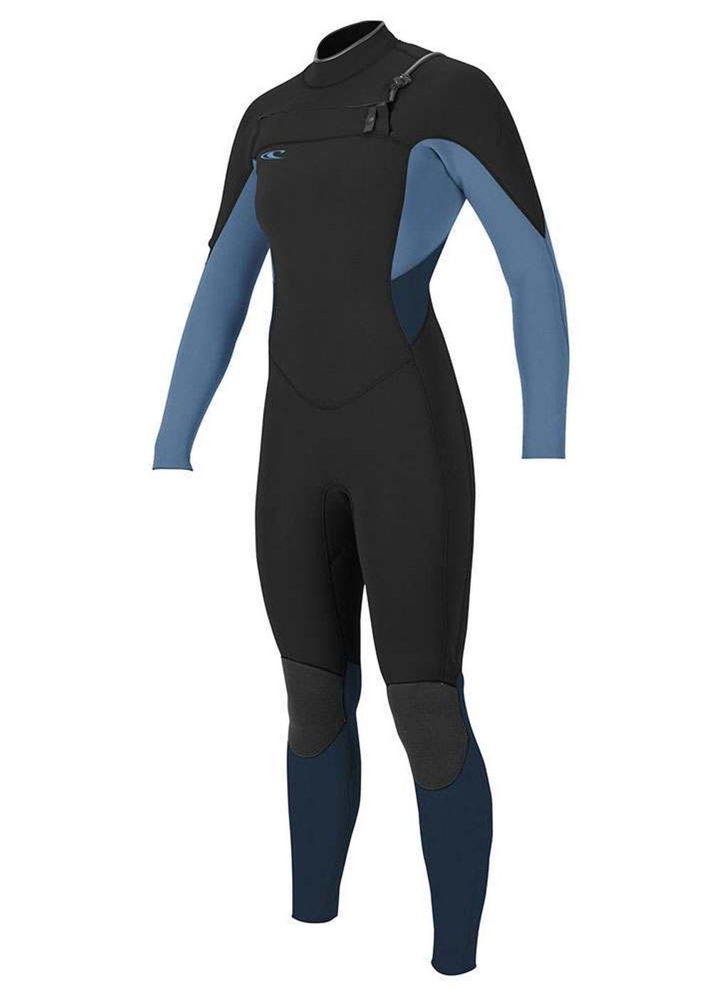 Oneill Womens Supertech Fz 5/4 Wetsuit 18 Blk/dst Picture