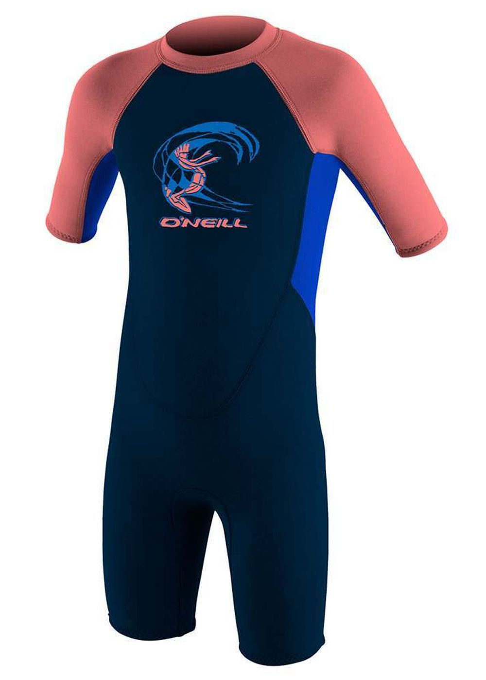 Oneill Toddler Reactor 3/2 Shorty Wetsuit Slate/ta Picture