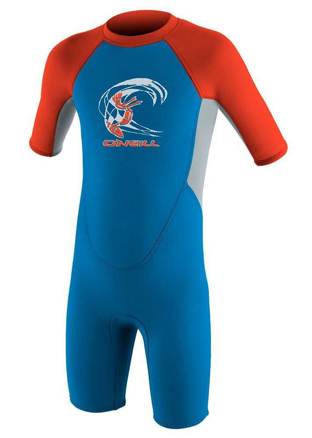 Oneill Toddler Reactor 3/2 Shorty Wetsuit Blu/grey Picture