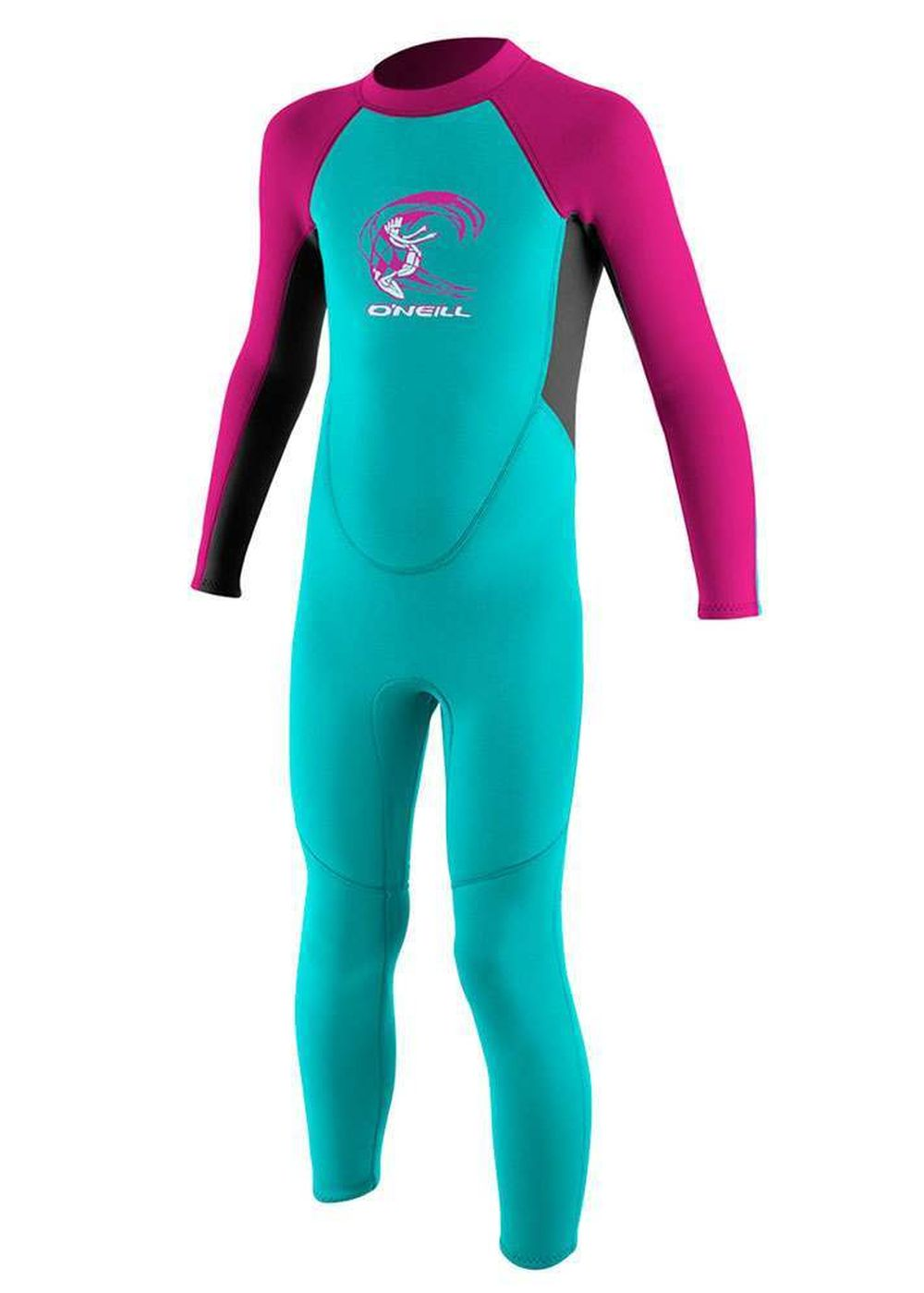 Oneill Toddler Reactor 3/2 Wetsuit Aqua/grph/bry Picture