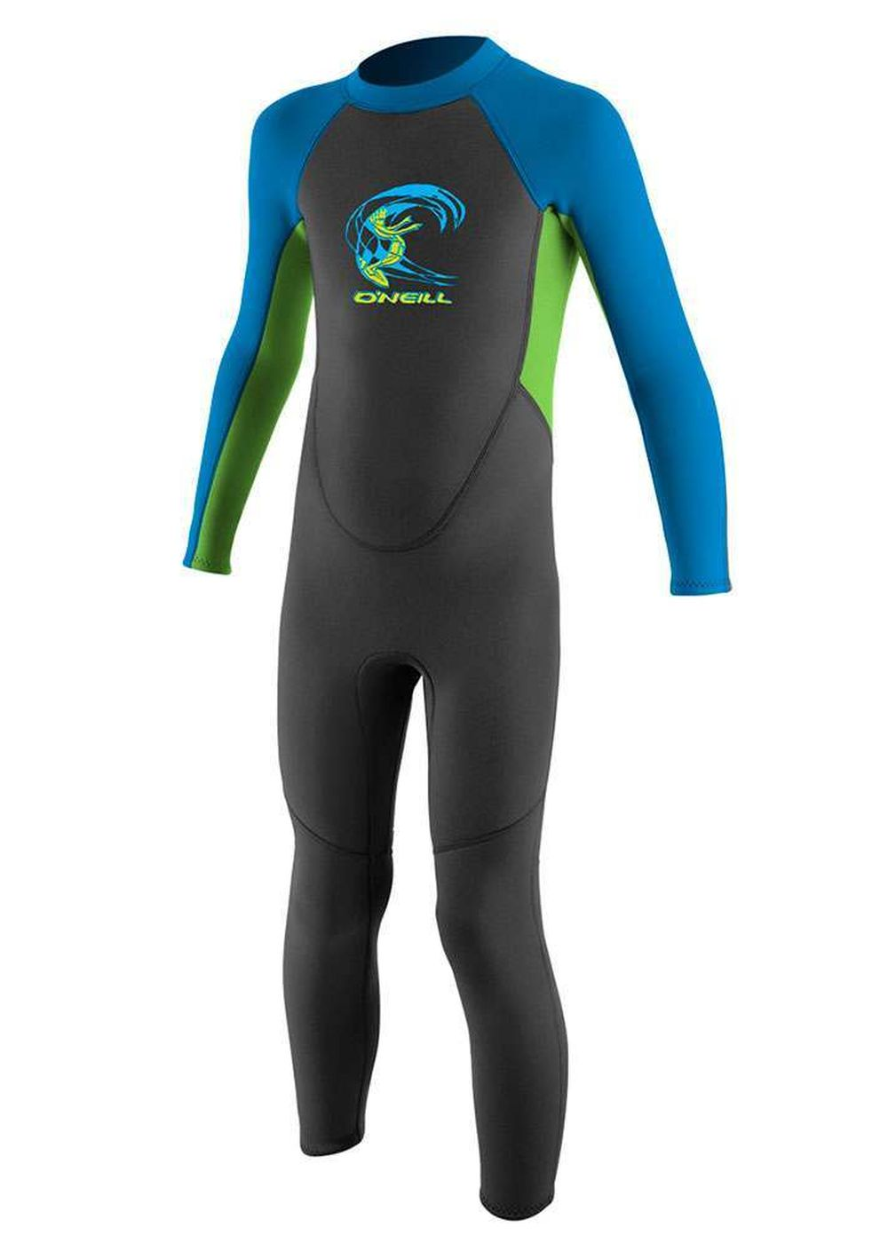 Oneill Toddler Reactor 3/2 Wetsuit Grph/dglo/blue Picture