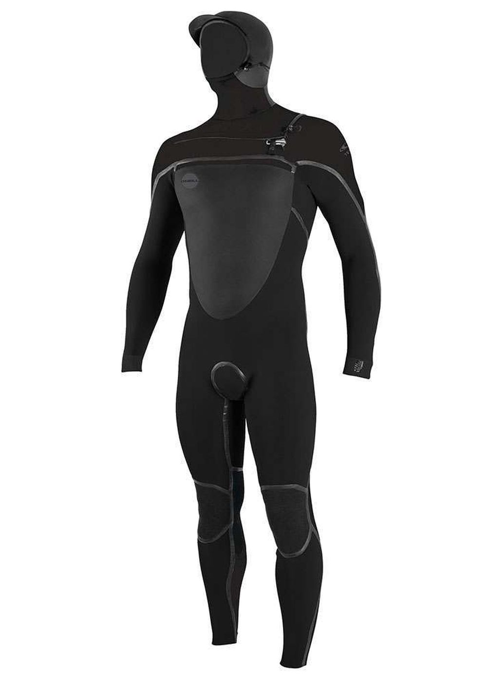 Oneill Psycho Tech Fz 6/4 Hooded Wetsuit 2018 Blk Picture