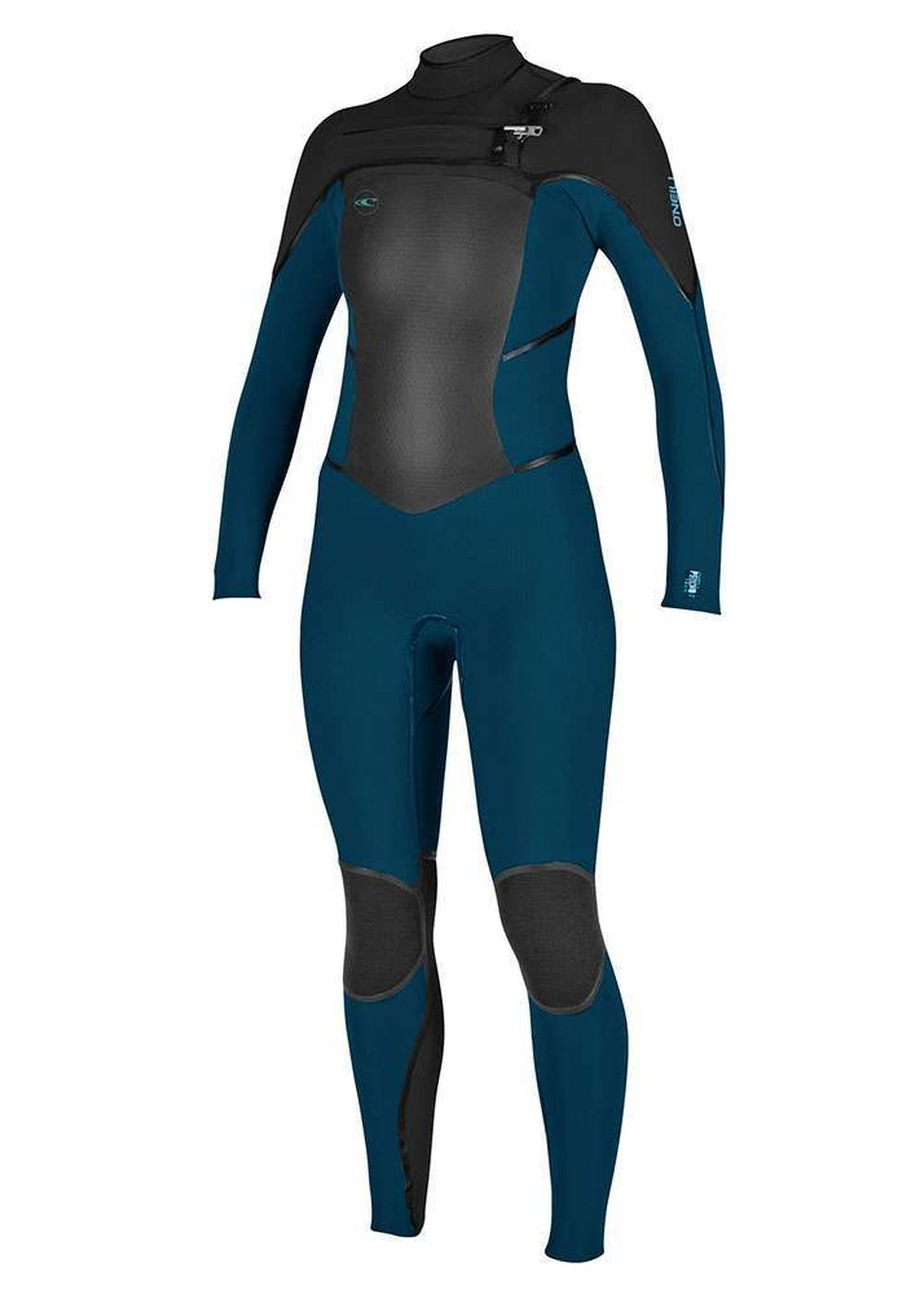 Oneill Womens Psycho Tech Fz 5/4 Wetsuit 18 Sl/blk Picture