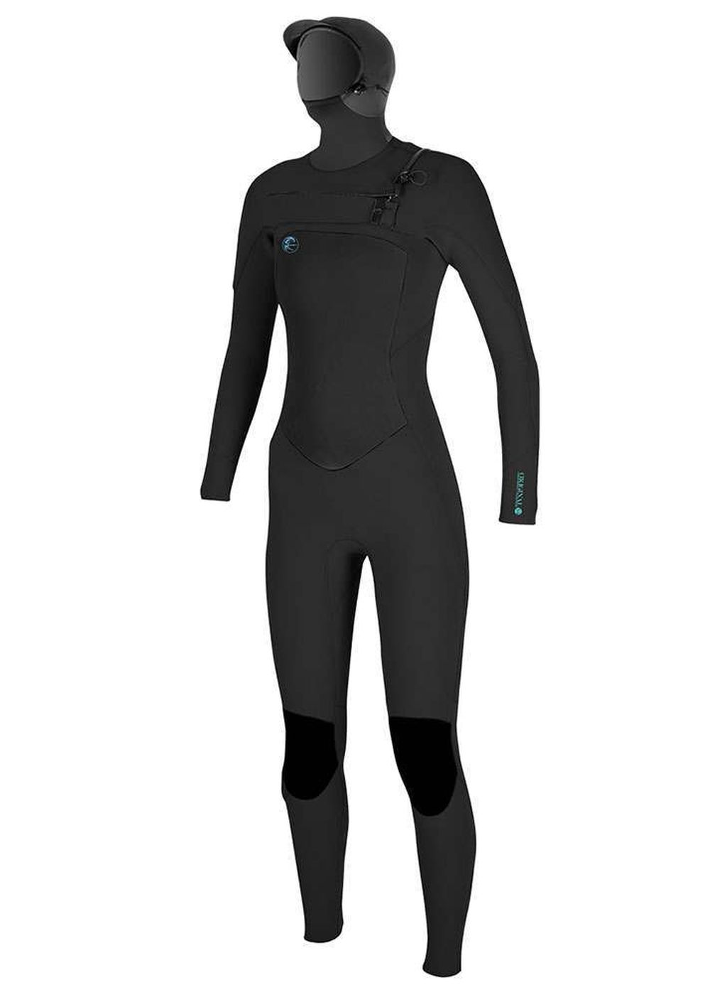 Oneill Womens Original Fz 6/5/4 Hooded Wetsuit 18 Picture