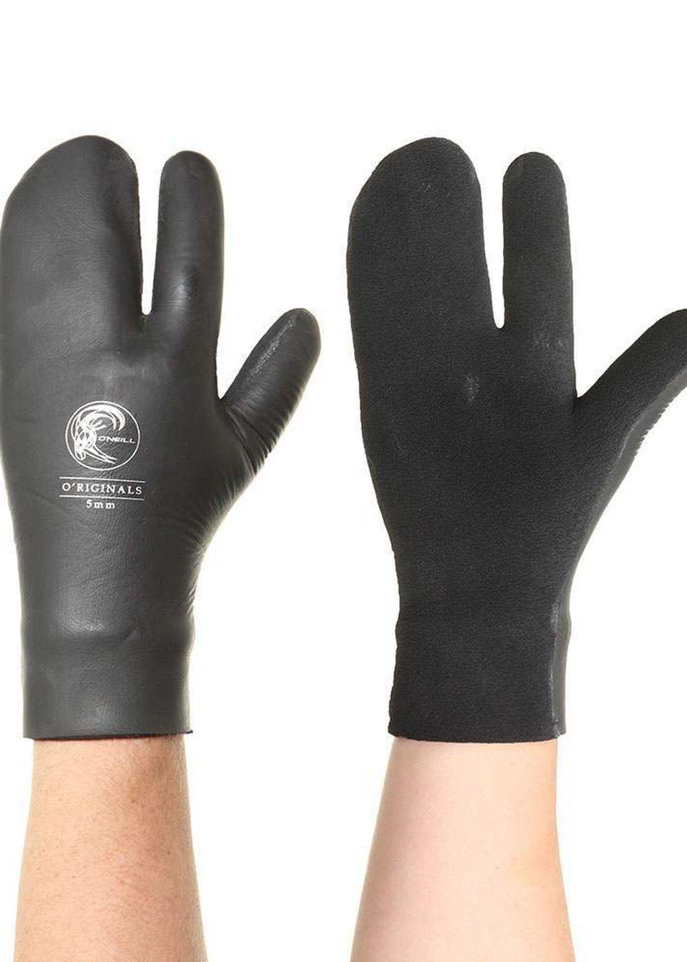 Image of ONeill Original 5MM Lobster Gloves Black