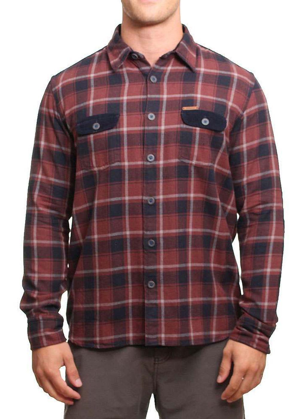 oxbow-casco-overshirt-bourgogne