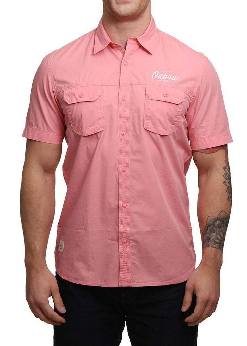 oxbow-calesco-ss-shirt-flamingo