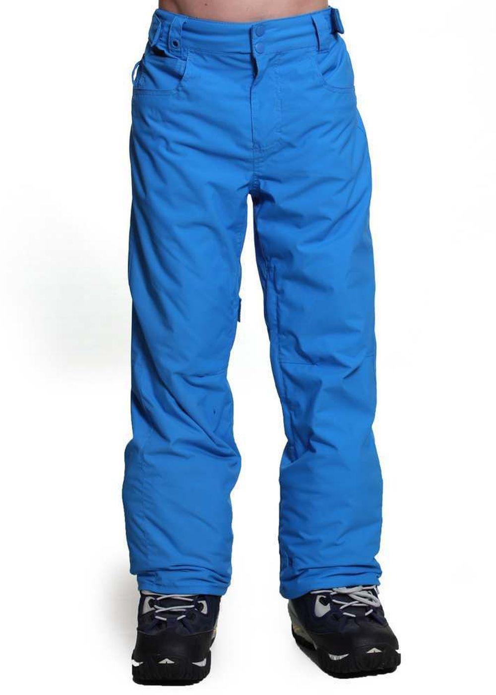 QUIKSILVER BOYS STATE SNOW PANTS Pacific Blue