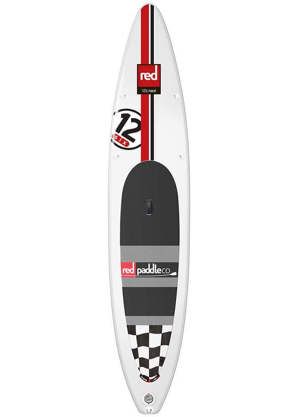 RED PADDLE 12FT 6 RACE RSS INFLATABLE SUP